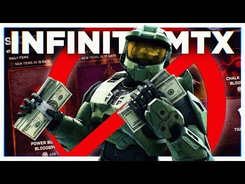 I'm extremely worried about Halo Infinite's Microtransactions... thumbnail