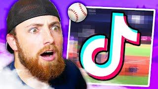 Reacting To Baseball Tik Toks!
