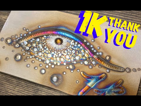 Tig Welding Art Welding Art 1k Subscriber Thank You Youtube