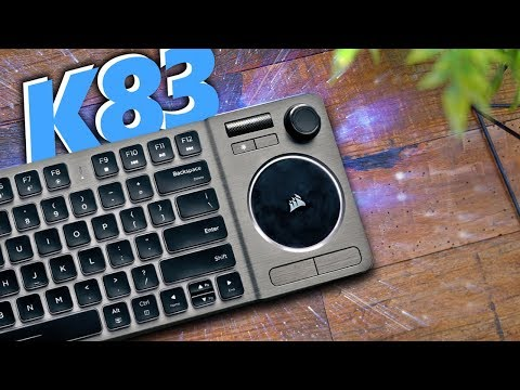 Corsair K83 Wireless Keyboard Review!