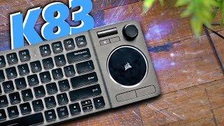 Corsair K83 Wireless Keyboard Review!