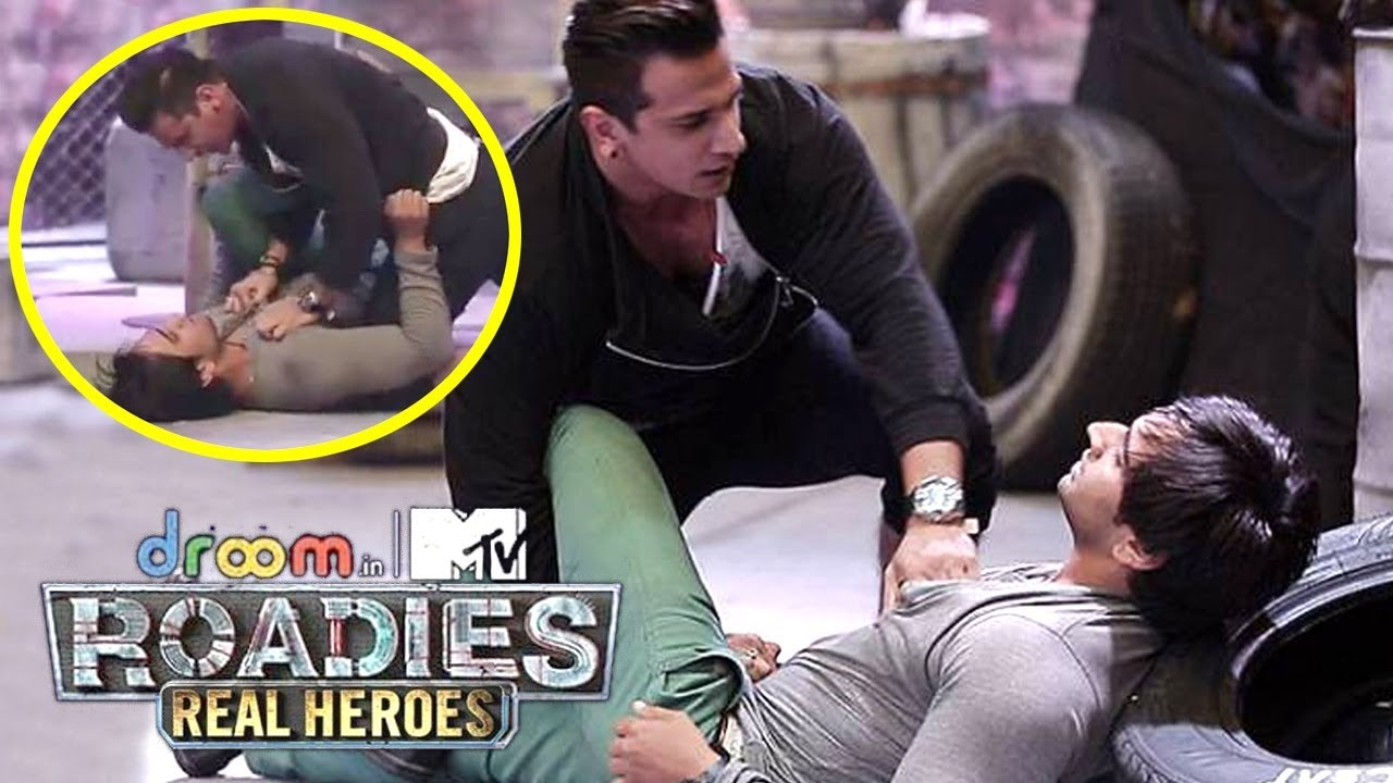 MTV Roadies Real Heroes - Prince Narula Fight With Contestant In Auditions