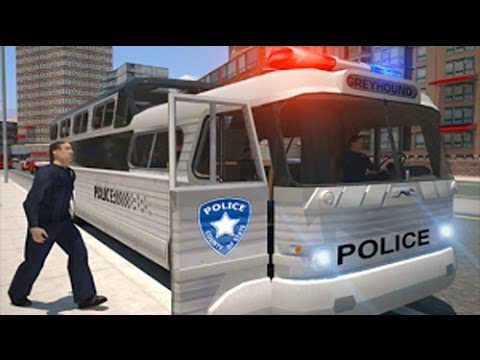 Police bus prison transport 3D - Police Game Android review