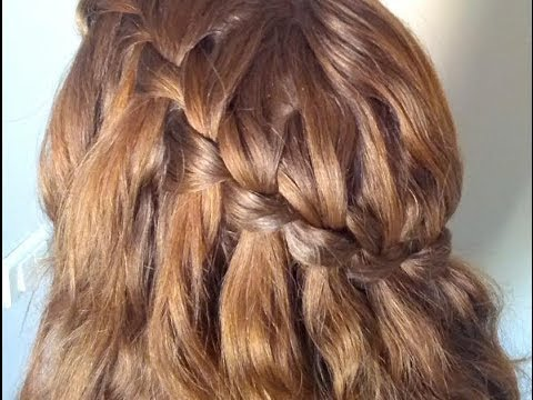 Fabuleux La tresse cascade (waterfall braid) - YouTube SR06