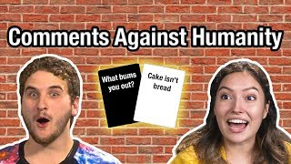 Comments Against Humanity!   FBE Live