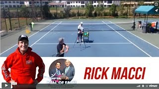 The Most Important Tennis Lesson Rick Macci Gave Me