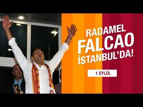 RADAMEL FALCAO İSTANBUL'DA 🐅