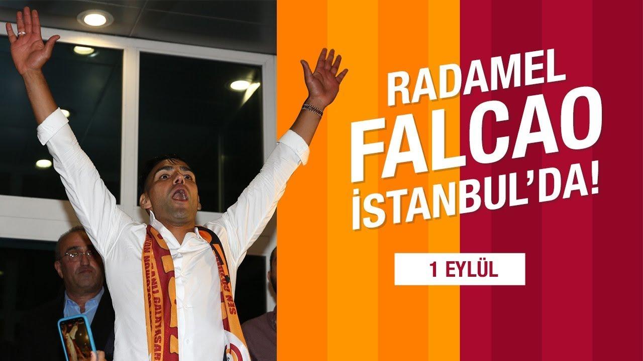 RADAMEL FALCAO İSTANBUL'DA