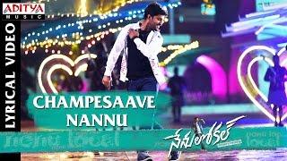 Download Hindi Video Songs - Champesaave Nannu Full Song With English Lyrics Nenu Local  Nani, Keerthy Suresh Devi Sri Prasad