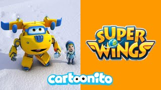 Super Wings | Giant Snowman | Cartoonito UK