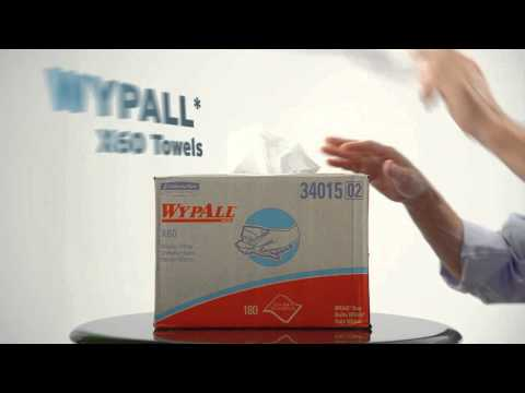 KIMBERLY-CLARK PROFESSIONAL* WYPALL X60 Wipers