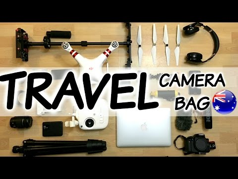 Travel Camera Bag to Australia