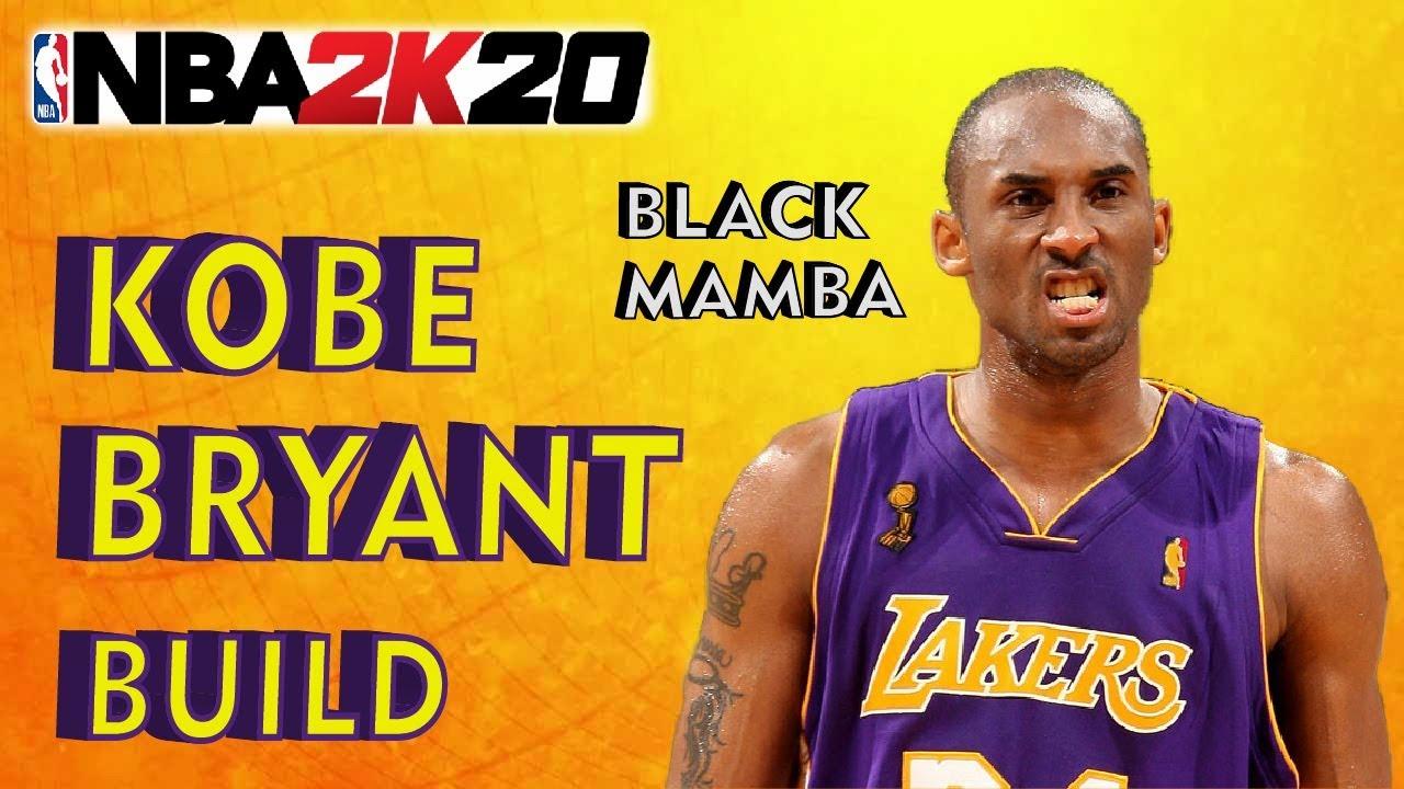 Nba 2k20 Best Kobe Bryant Mamba Build 3level Scorer My Player Ps4 Xbox One