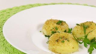 Картофельные галушки видео рецепт
