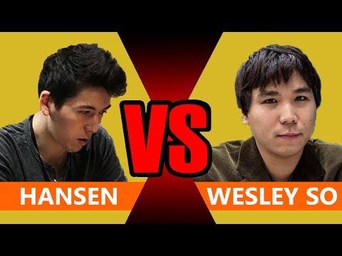 Wesley So vs Eric Hansen BULLET Chess Match