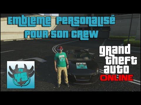 how to change crew gta o