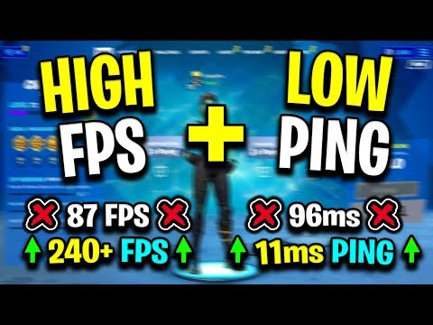Improve FPS & Lower Ping In Fortnite By Doing This! (Not Clickbait)