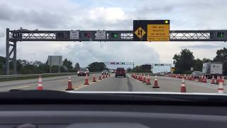 Driving on the Chesapeake Bay Bridge (Is this the scariest bridge in America?)