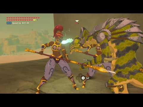Zelda Breath of The Wild - Bring Lizalfos to Gerudo Town *Subb Request*