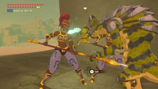 Zelda Breath of The Wild - Bring Lizalfos to Gerudo Town *Subb Request*