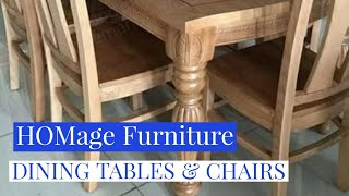 ROYAL DINING TABLES & CHAIRS   HOMEage FURNITURE  