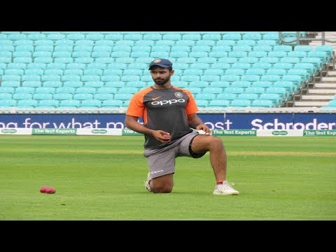 Watch: Hanuma Vihari likely to make his debut at the Oval