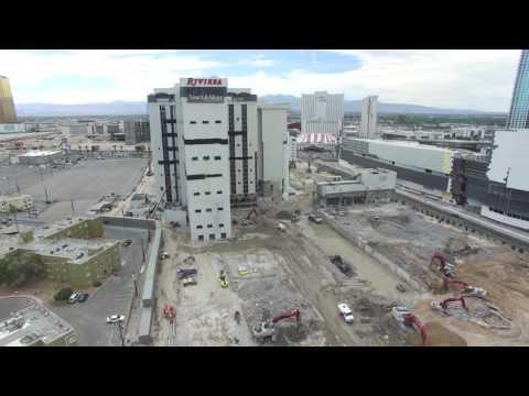 Riviera Las Vegas Demolition Update: June 9, 2016