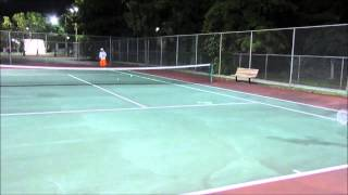 MIESHA TENNIS GAME
