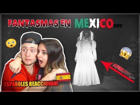 LOS MEJORES VIDEOS De FANTASMAS En MÉXICO... | ESPAÑOLES REACCIONAN (Con Mi NOVIA)