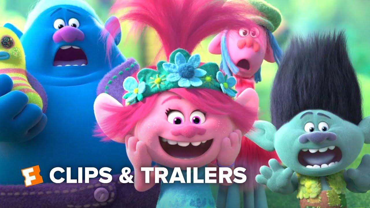 Download Trolls World Tour ALL Clips + Trailers (2020)   Fandango Family