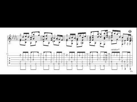 Graceful Ghost Rag - Modern ragtime on guitar; only audio with tab ...