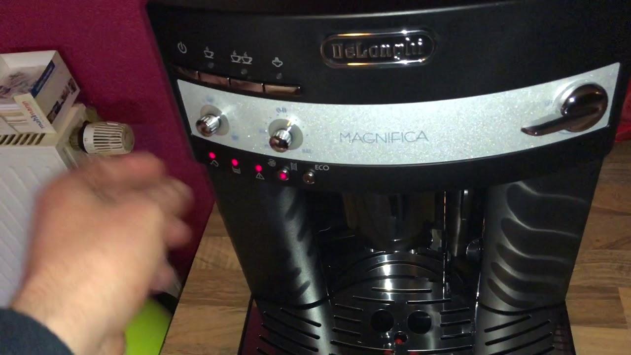Delonghi Kaffeemaschine Mahlwerk Einstellen : Einstellung der auto abschaltung delonghi magnifica esam