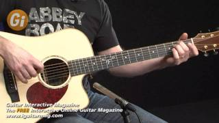 Acoustic Guitar Review Freshman FA 600DCE With Tim Slater iGuitar Magazine