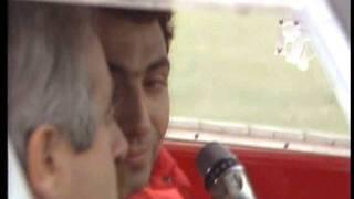 Michele Alboreto prova la F40