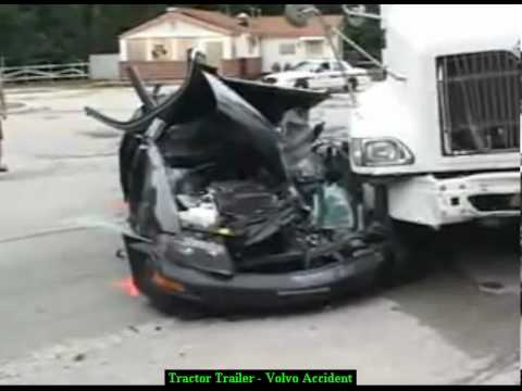 Tractor Trailer Crash - Truck Accident Lawyer - Serious Injury Truck Accident Attorney