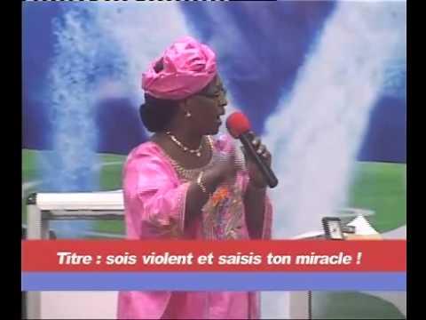 05 03 2014 Sois violent et saisis ton miracle   Pasteur Hortense KARAMBIRI