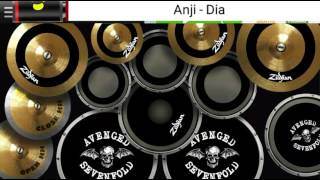 Anji - Dia || Real Drum Cover