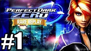 Rare Replay: Perfect Dark Zero - Gameplay Walkthrough Part 1 [ HD ]