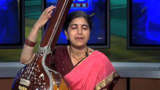 Indian classical music demo by Prema Bhat on FOX TV