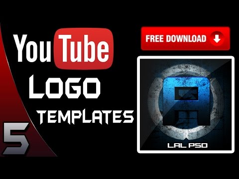 Top 5 YouTube Profile Picture/Logo Templates! - 2016 [DOWNLOAD]