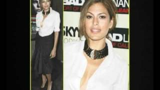 Is Eva Mendes Showing Too Much Side Boob?