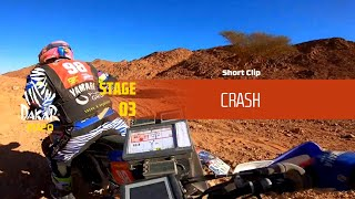 Dakar 2020 - Stage 3 - Crash