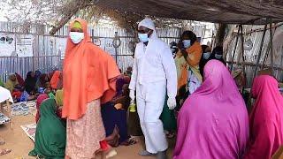 شاهد: فيروس كورونا مأساة أخرى تضاف إلى يوميات اللاجئين الصوماليين…