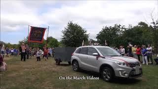 12th July 2018 Ballyclare return parade