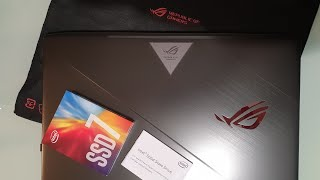 Review SSD M.2 Intel 760p 512GB si viteza luminii - 3GB/s - upgrade si instalare in ASUS ROG GL703GE