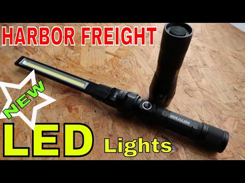 Harbor Freight's newest LED lights