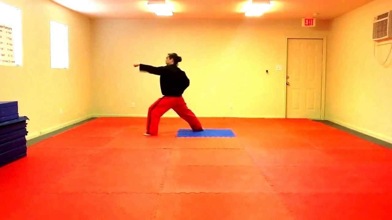 Dan Gun Tae Kwon Do Form - Slow - YouTube
