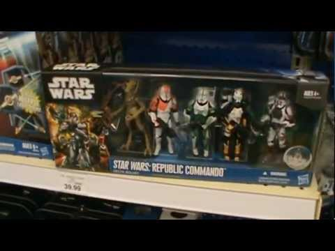 Star Wars The Clone Wars 2011 NEW DISPLAY SET ISLE At TOYS R US