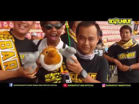 #18/2 Aksi SOPBUNTUT Saat Laga PS. Barito Putera VS PSM Makassar di Std. 17 Mei Banjarmasin