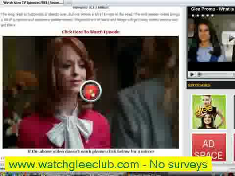 Glee Watch Online